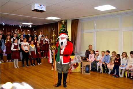 Ulonų Kalėdų senelis iš Lenkijos