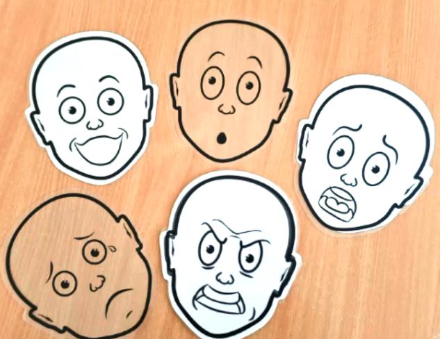Emocijų pažinimo ir valdymo užsiemimai
