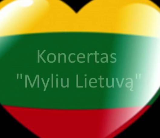 """Darželinukų veikos ir koncertas ,, Myliu Lietuvą"""""""